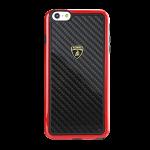 Lamborghini-Carbon Fiber Case Iphone 6
