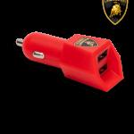 HEXAGONAL DUAL USB LAMBORGHINI CAR CHARGER