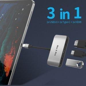 MAX&MAX 3-in-1 USB C HUB 01